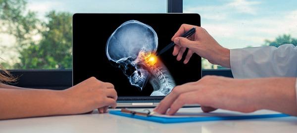 تشخیص درد گردن
